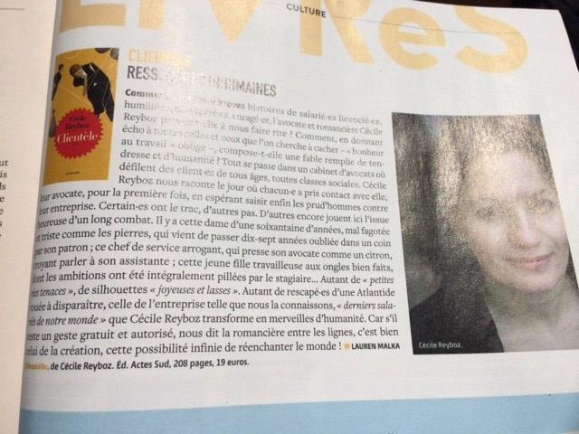 Clientèle de Cécile Reyboz dans Causette