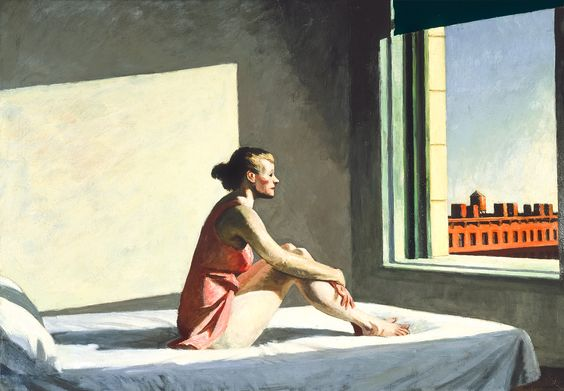 Edward Hopper (1882 - 1967) - Morning Sun (1952)
